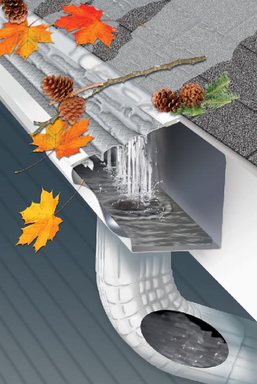 Leaf Solution Gutter Cover